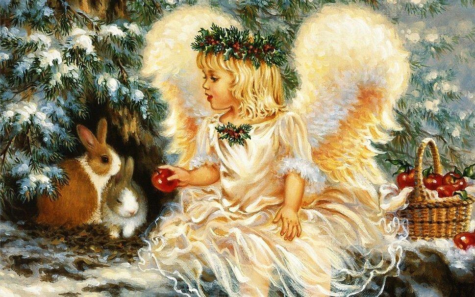 С рождеством открытки красивые старинные