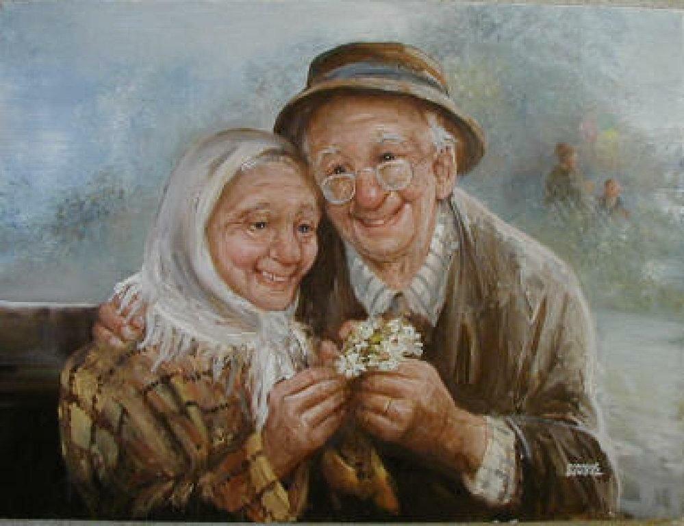 Картинки о бабушках и дедушках, 24-летием
