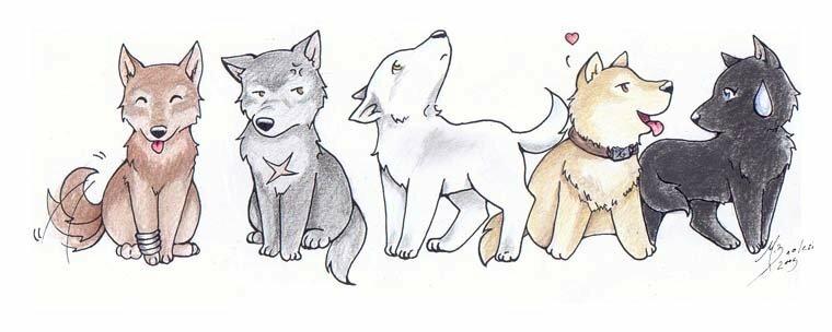 картинки для личного дневника волки сей день селекционеры