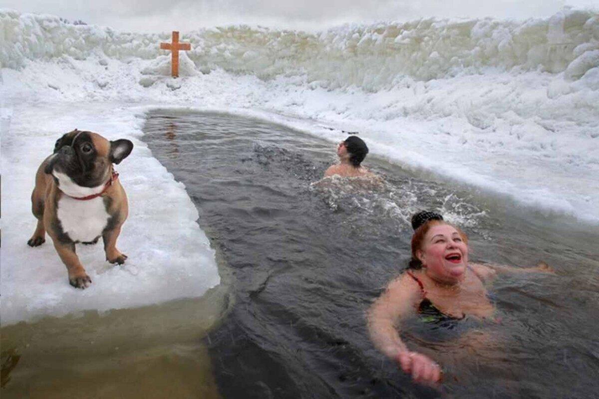 Прикольные открытки крещение