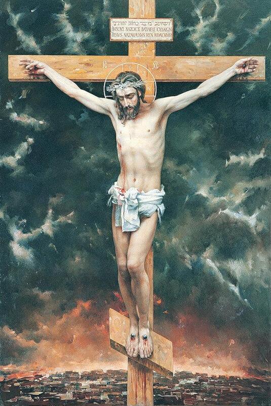 Картинка иисуса христа на кресте