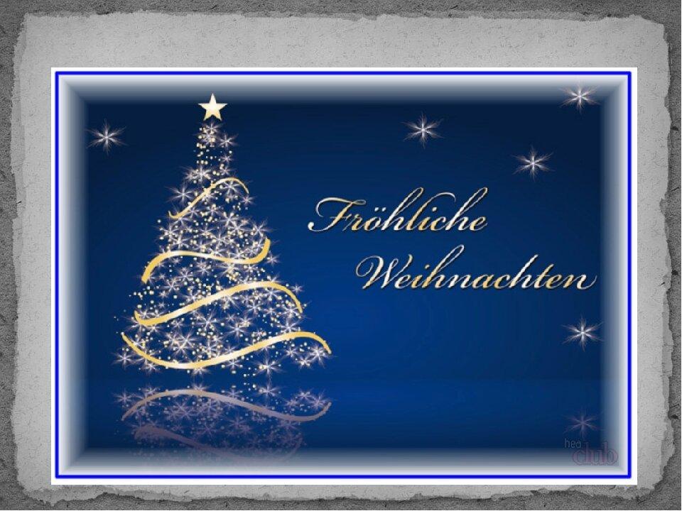 Поздравления по-немецки с новым годом