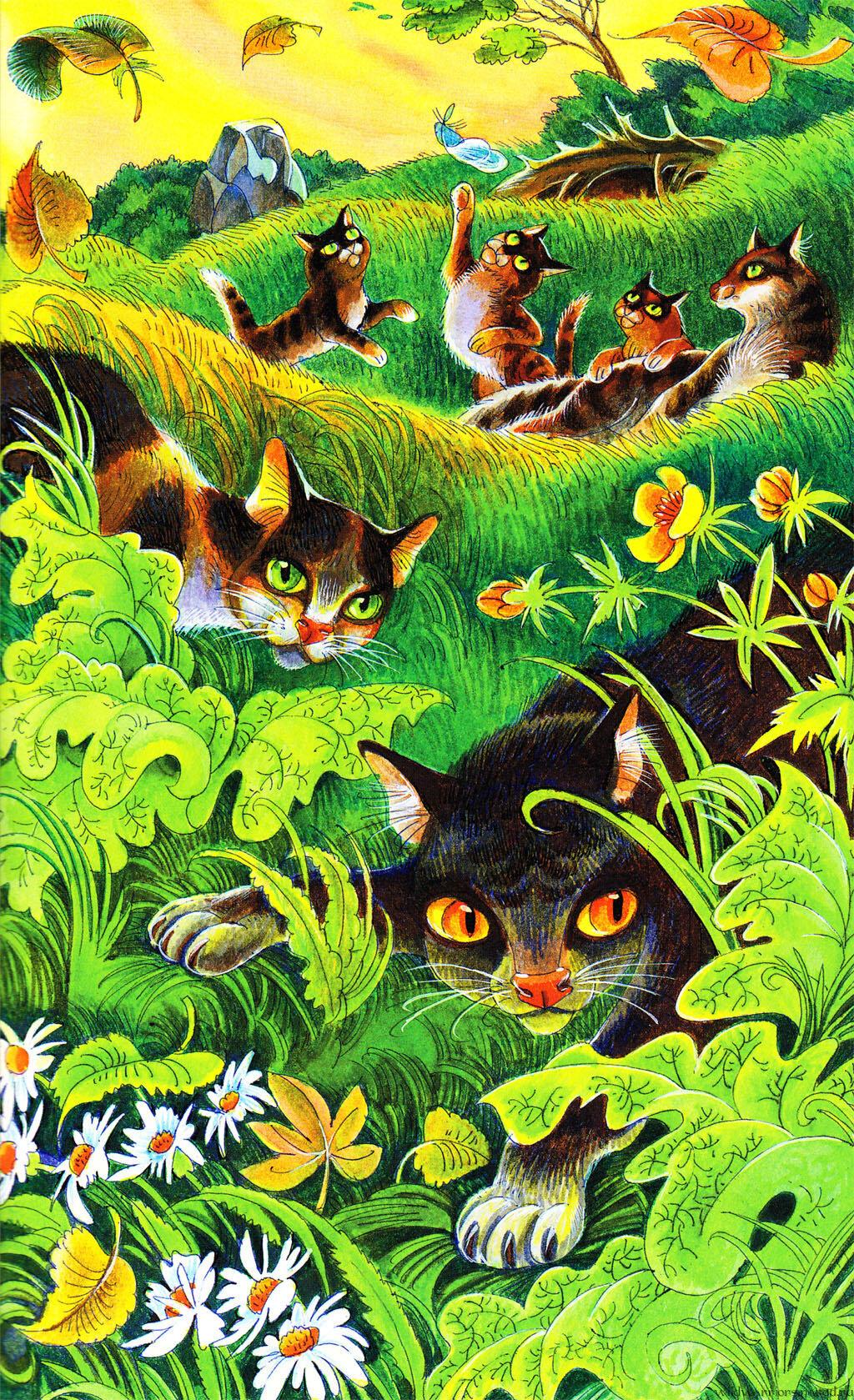 рецепты коты воители герои племен как
