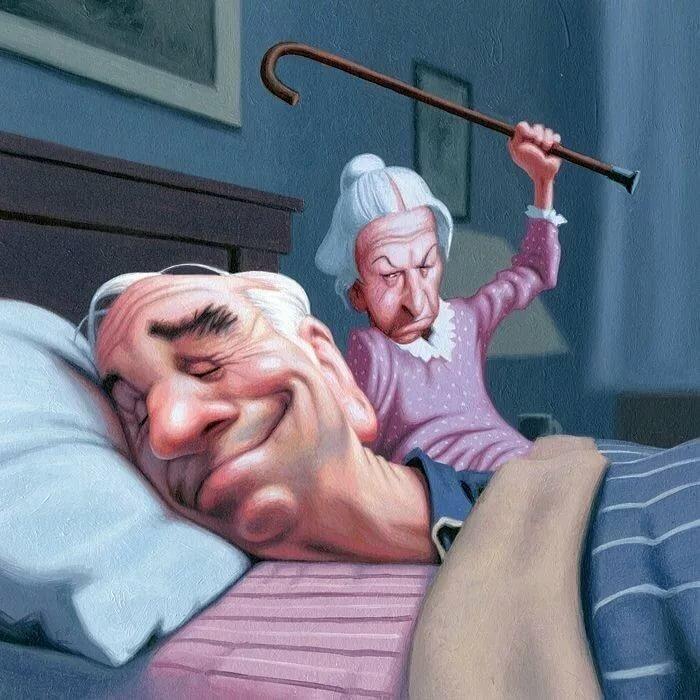 Маме добрым, бабка с дедом картинки прикольные