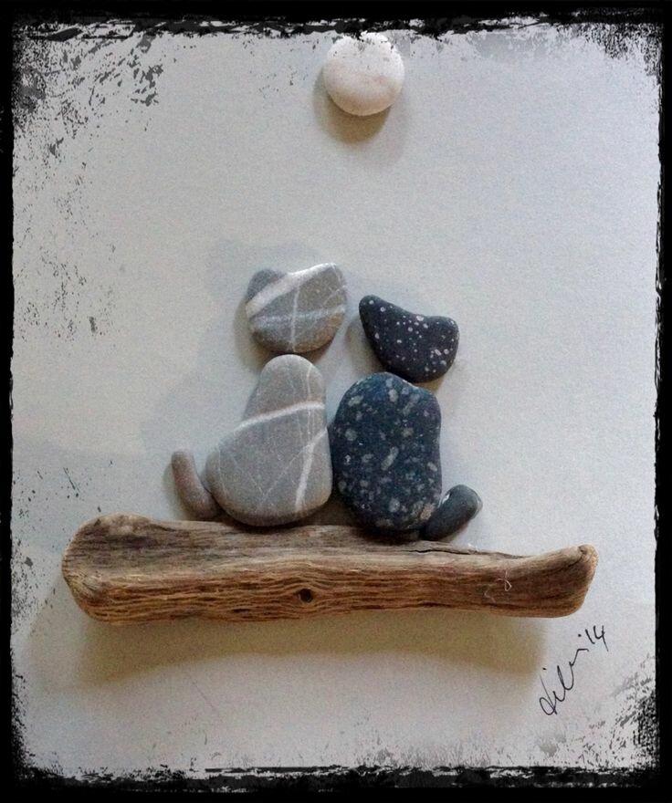 Открытки из камней