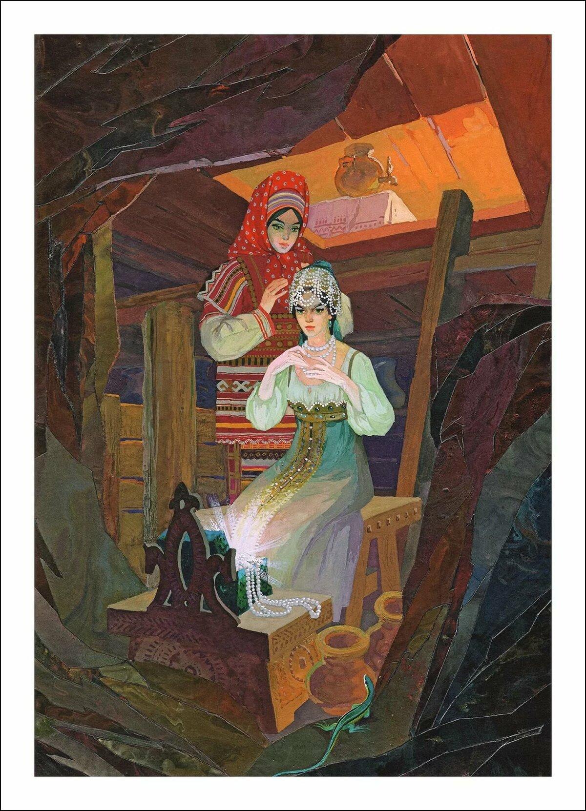 День рождения, картинки к сказкам бажова малахитовая шкатулка