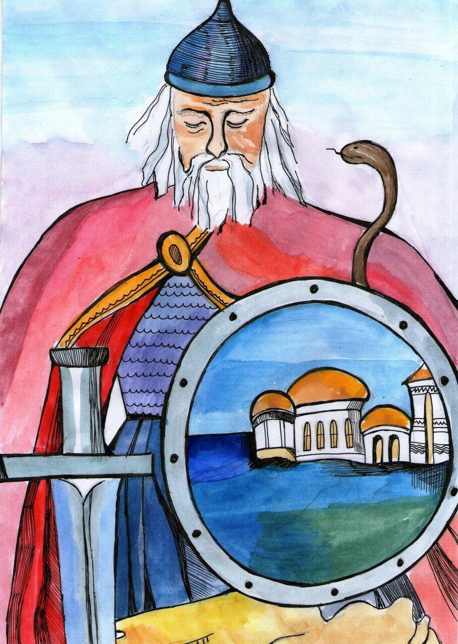 Картинки князь олег