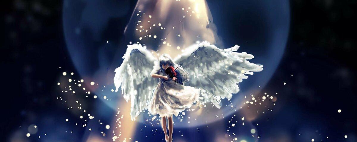 расположены летающие ангелы картинки красиво внимание