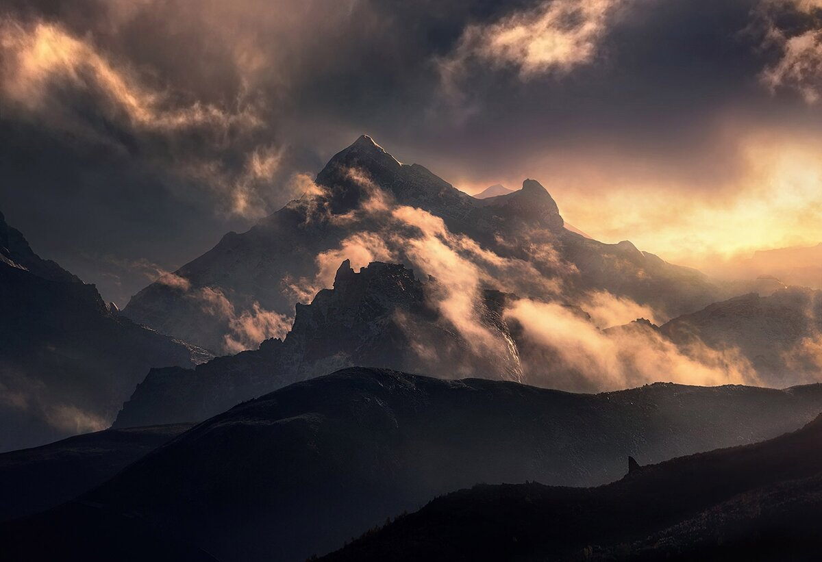 Ветер в горах фото