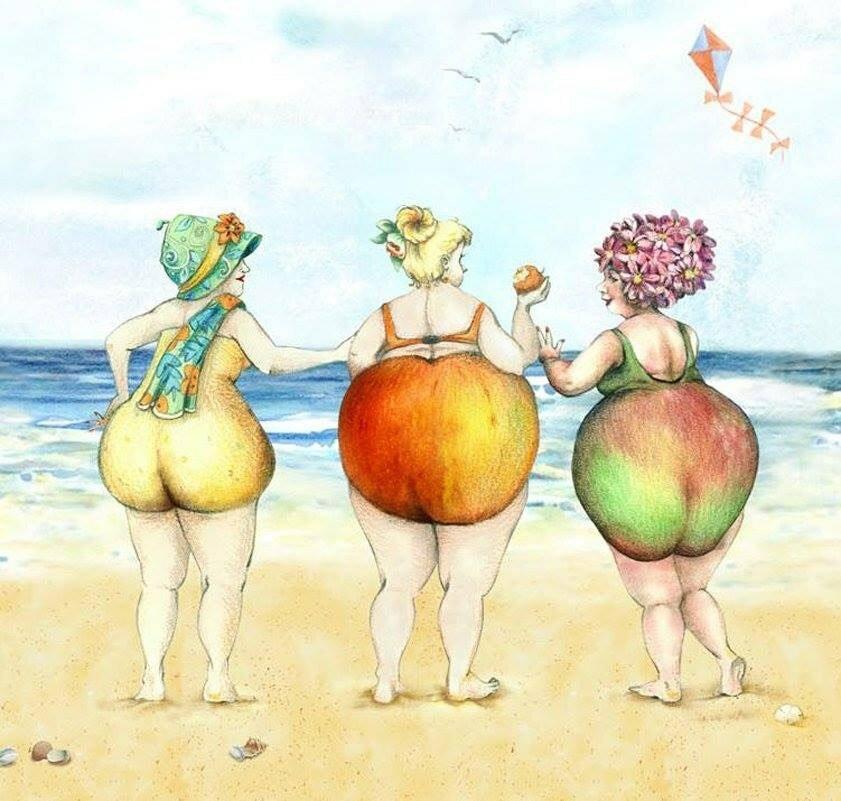 Персики прикольная картинка, вера надежда любовь