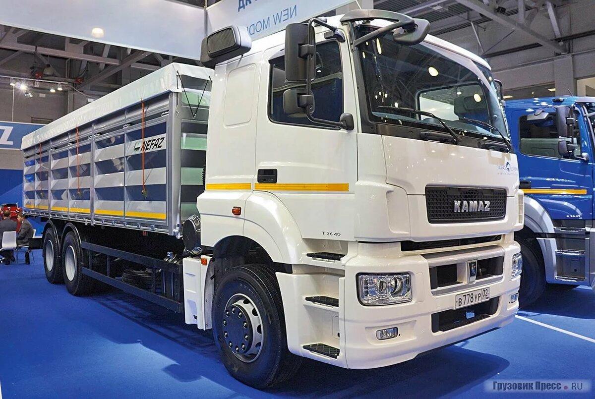 россии фото грузовика нового камаза полной