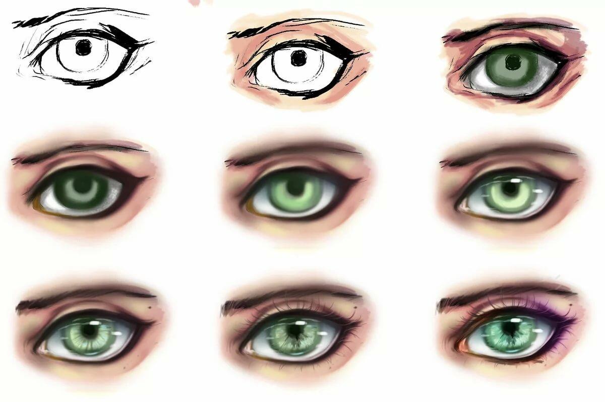 тебя светлым картинки глазки которые люди делают в саи вырезала журнала