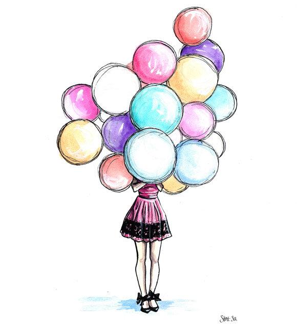 Болей, картинки для день рождения для девочек для срисовки