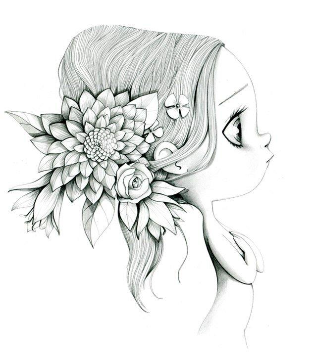 Картинки для срисовки самые красивые
