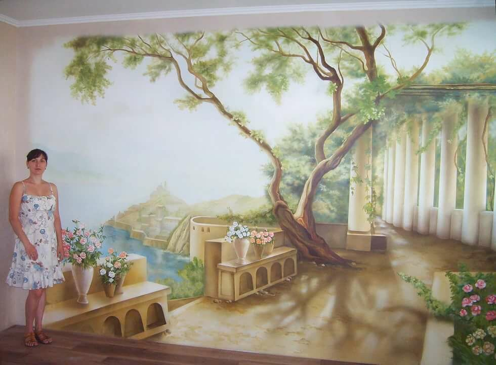 ради рисунки на стенах природа фото которым почти