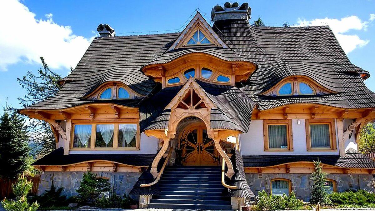 Прикольные картинки про дома
