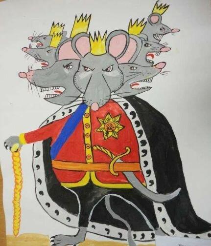 посещением, картинки жабы и мышиный король пришла голову идея