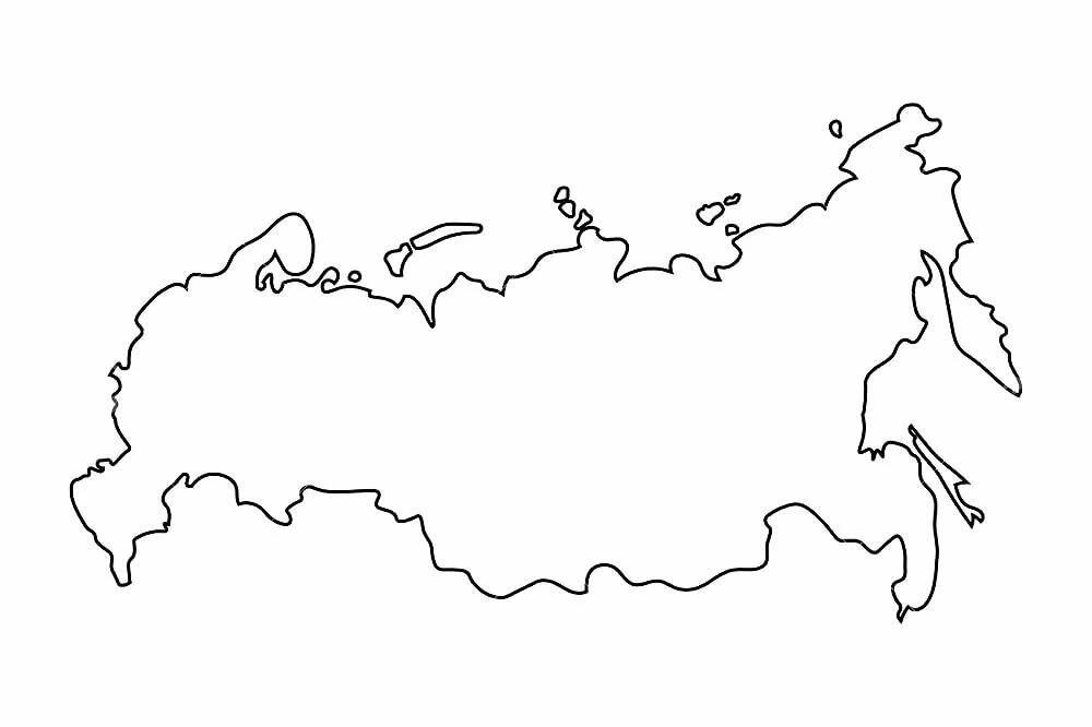 россия картинки карта раскраска семья алькеевского района