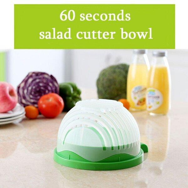 Картинки по запросу Овощерезка для салатов Salad Cutter Bowl