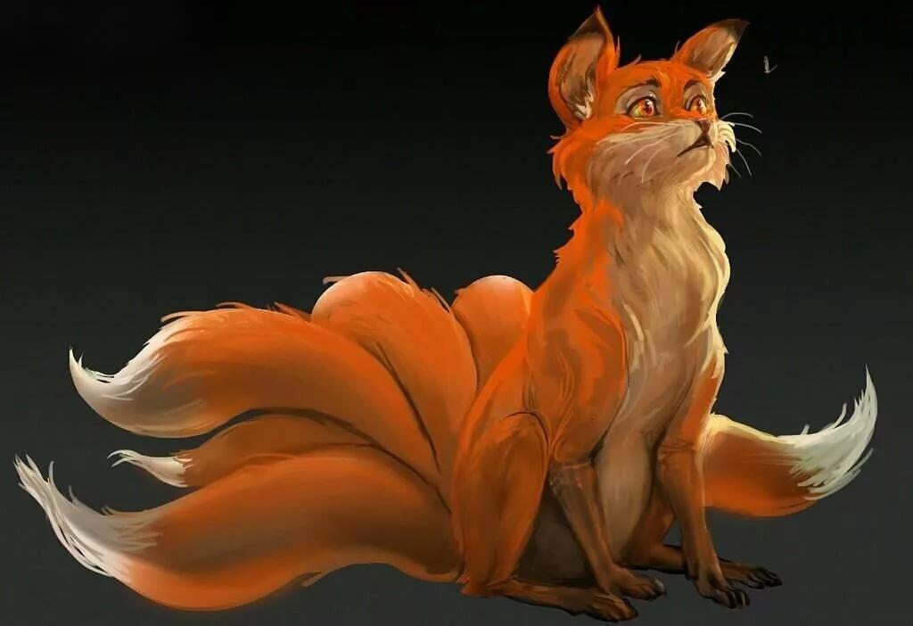Аниме картинки лисов