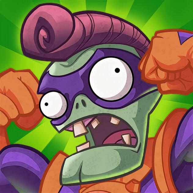 зомби против растений супергерои картинки