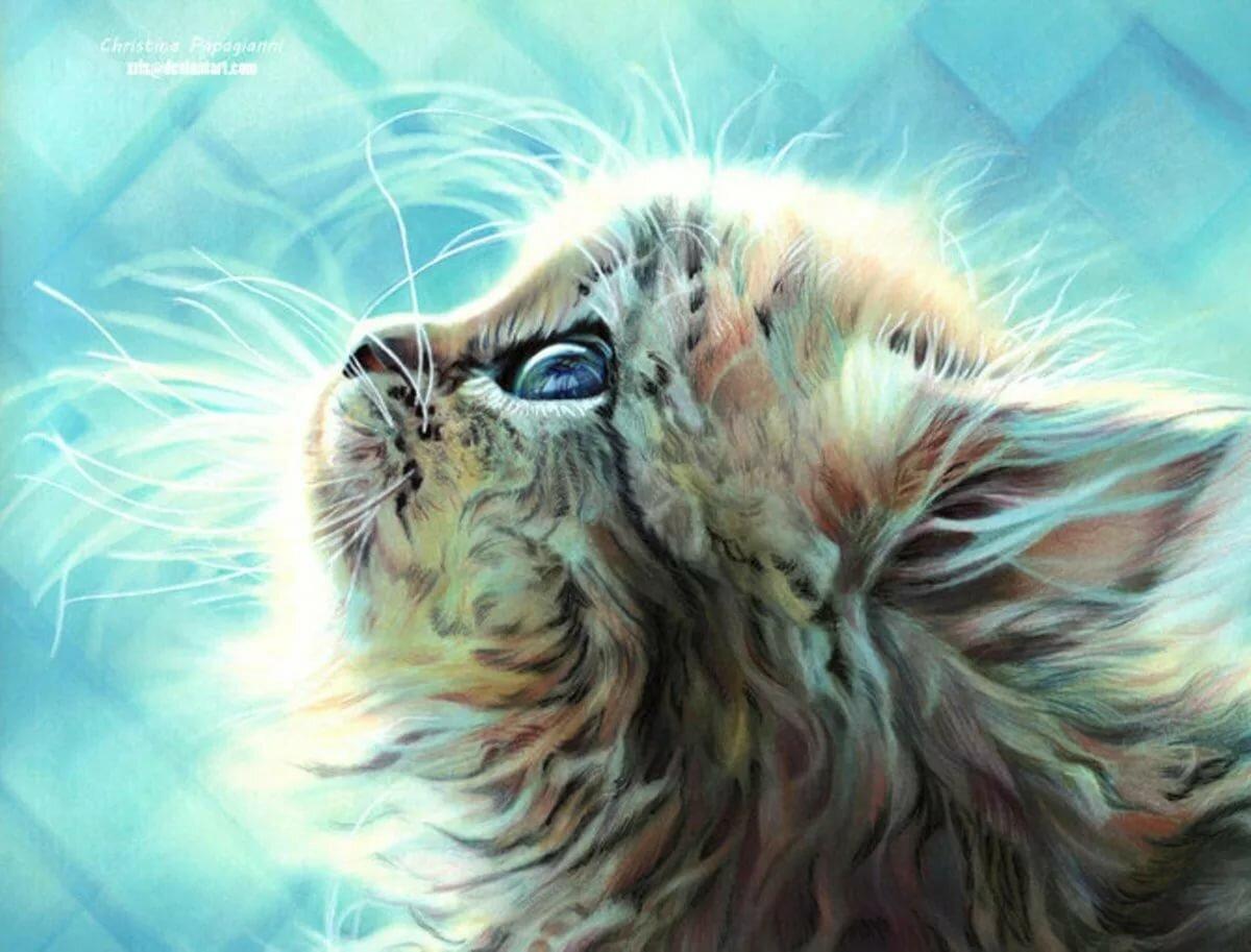 Чудеса, картинки красивые животные нарисованные