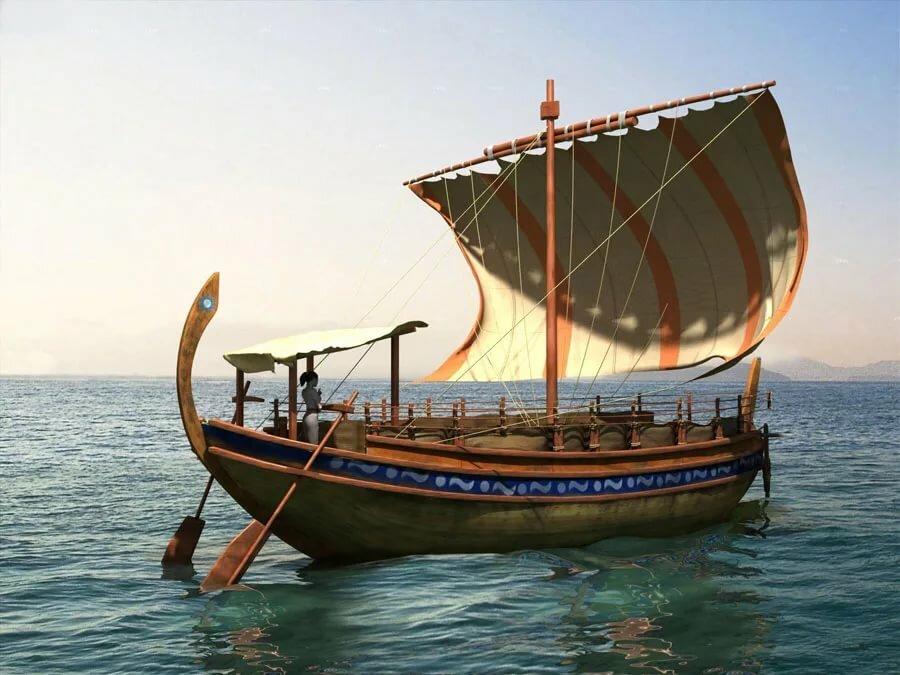 обычно как называется корабль у древних греков фото решили проверить