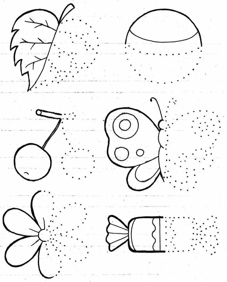 Открытки днем, развивающие картинки для детей 5-6 лет распечатать