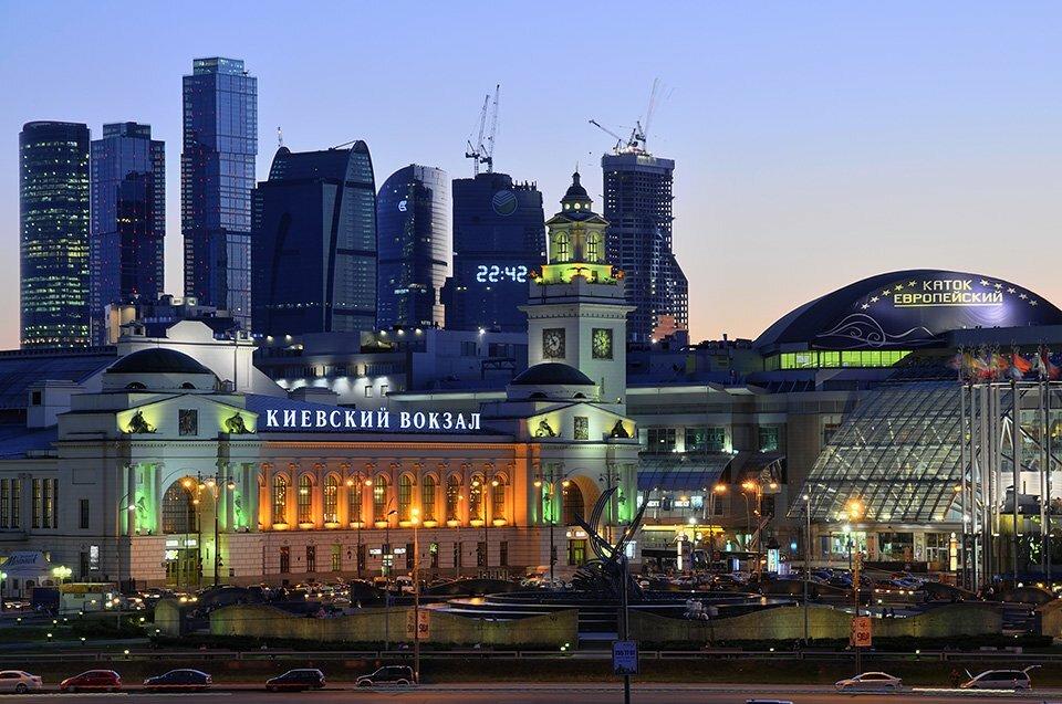 Картинки киевский вокзал в москве