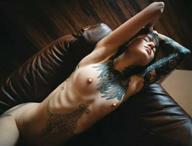 Sexy Tattoos For Women Girl Tattooed Angelica Thumbzilla 1