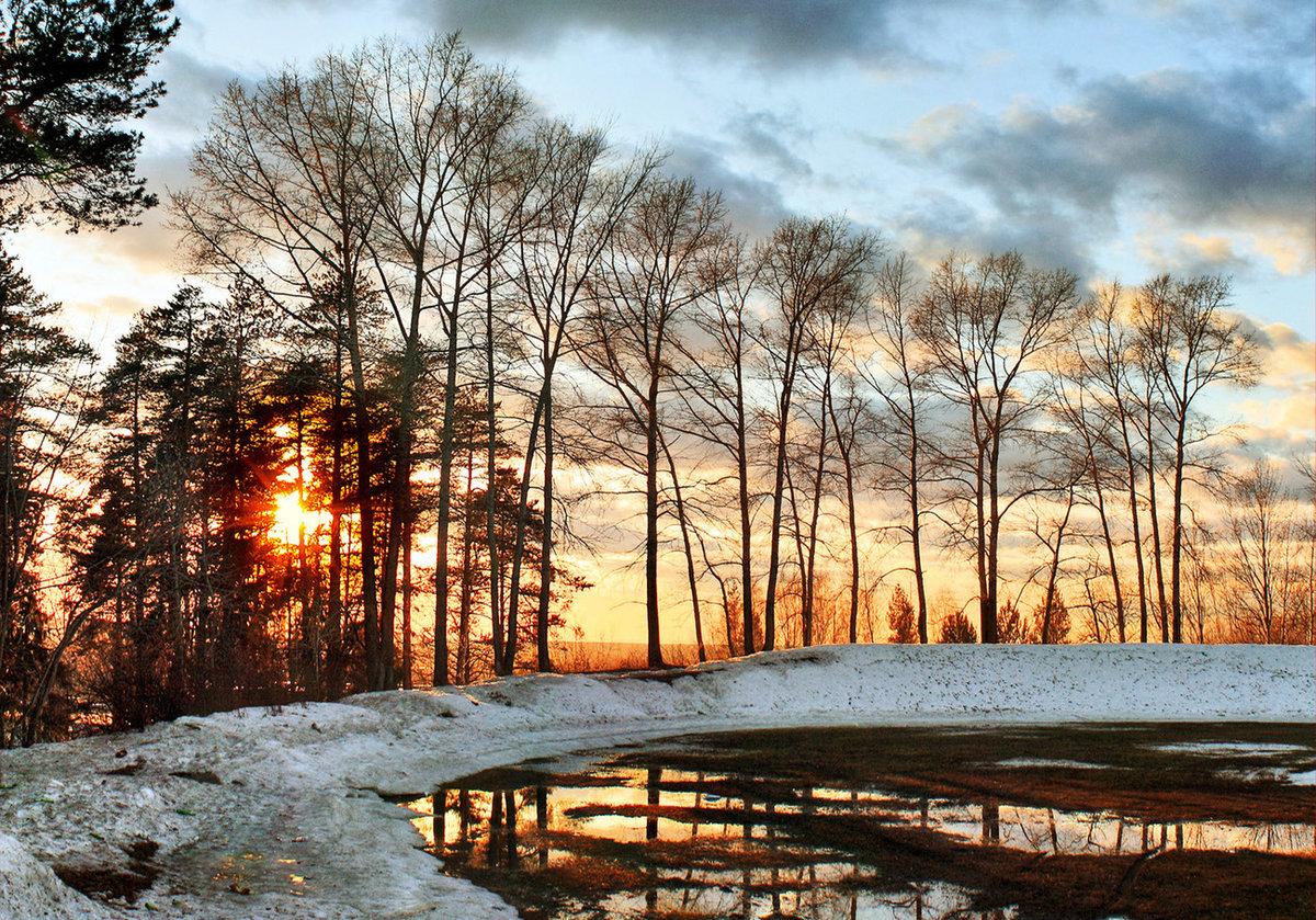 Картинки ранней весны утро