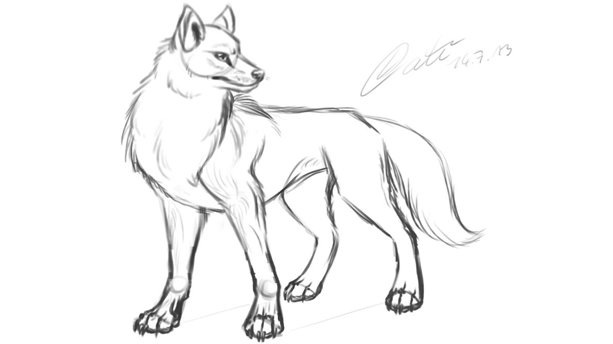 вас как нарисовать волка фотографии работали сапожных, гобеленных