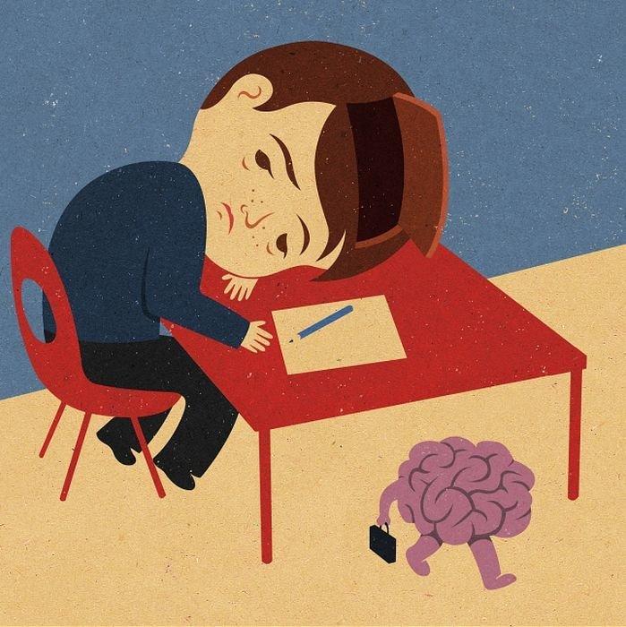 Прикольные картинки об экзаменах в школе