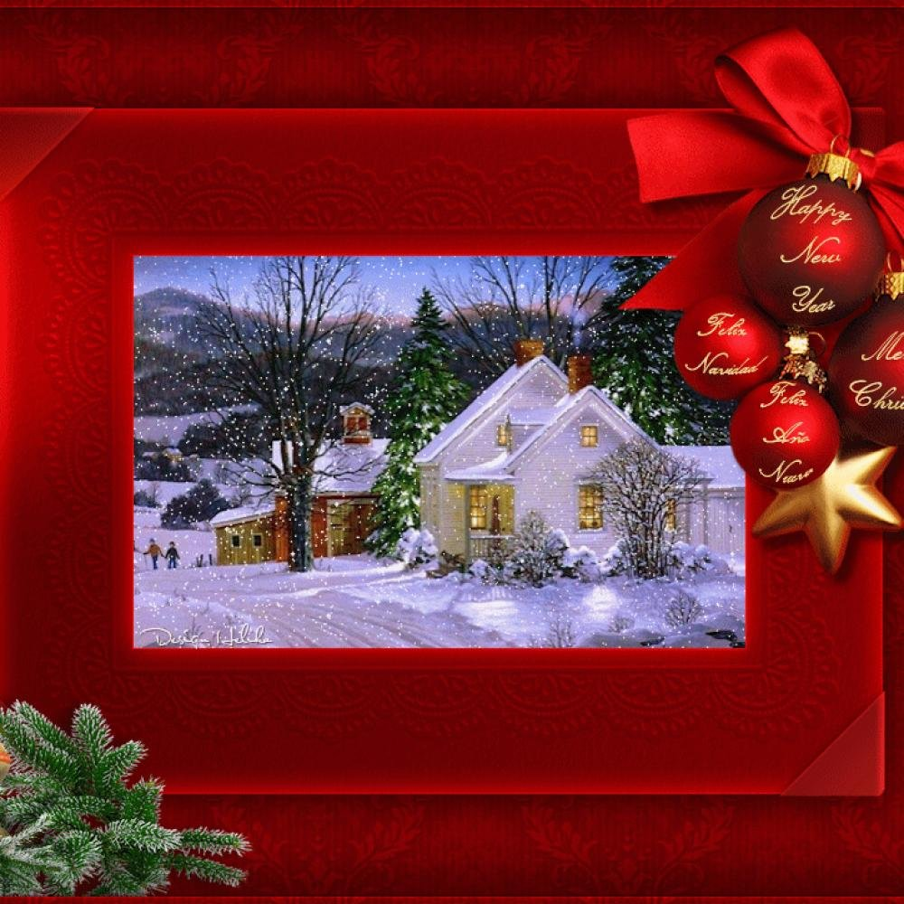 девушки красивые открытки на новый год и рождество купе