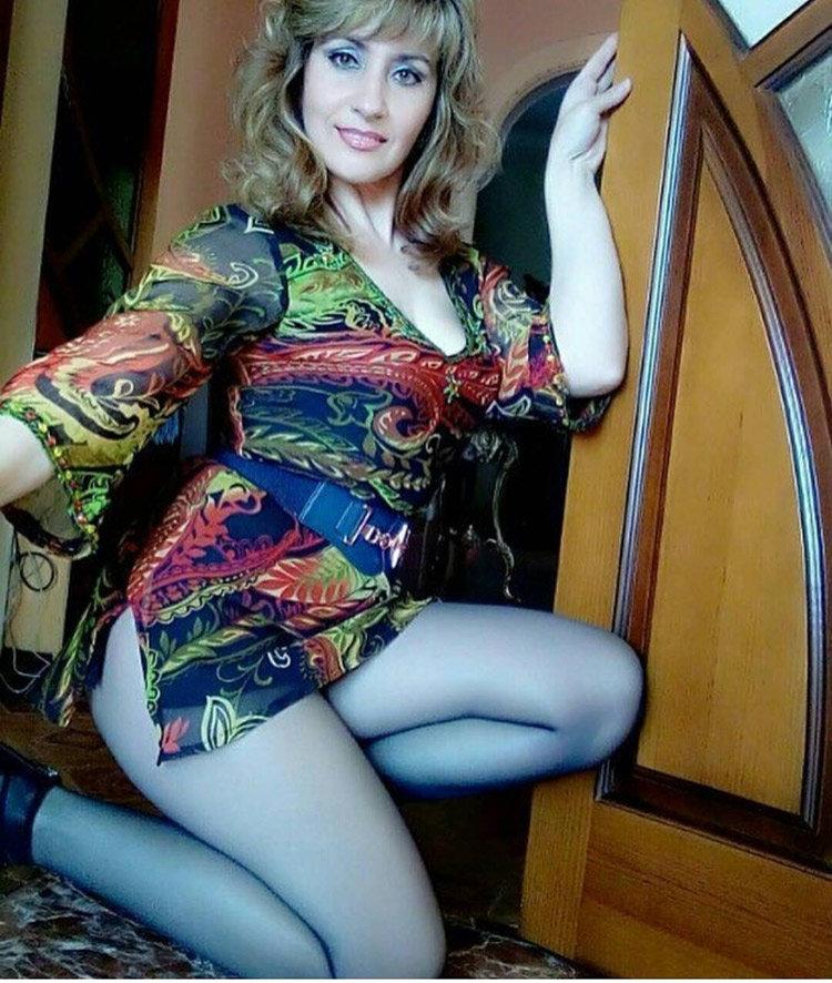 Зрелая красивая русская