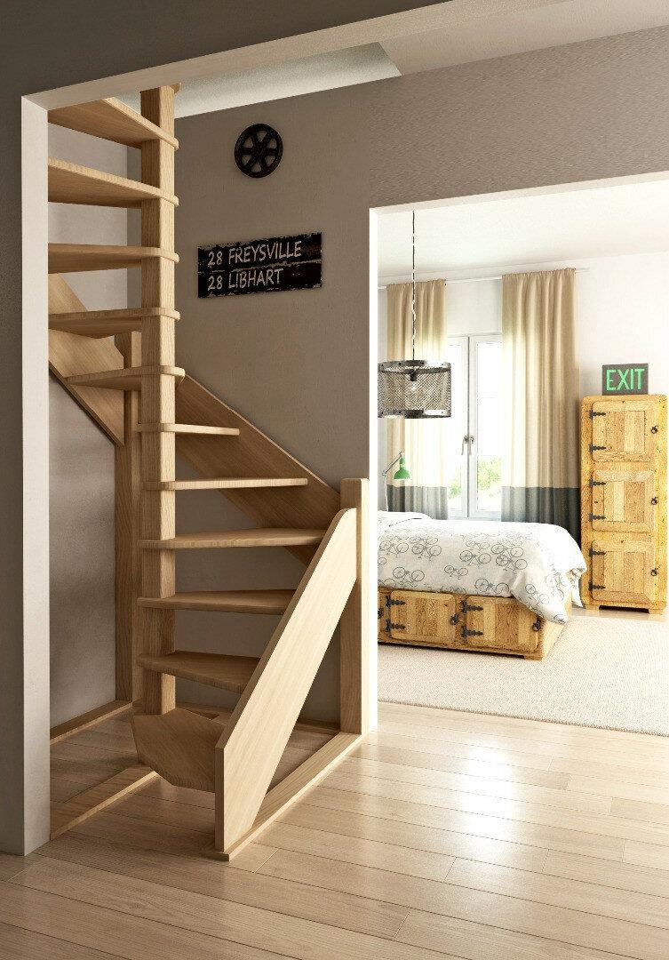 винтовые межэтажные лестницы для квартиры фото удобно его