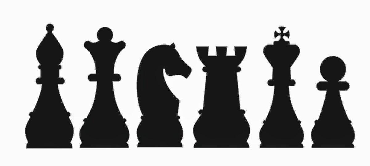 Шахматные фигуры рисунки классические