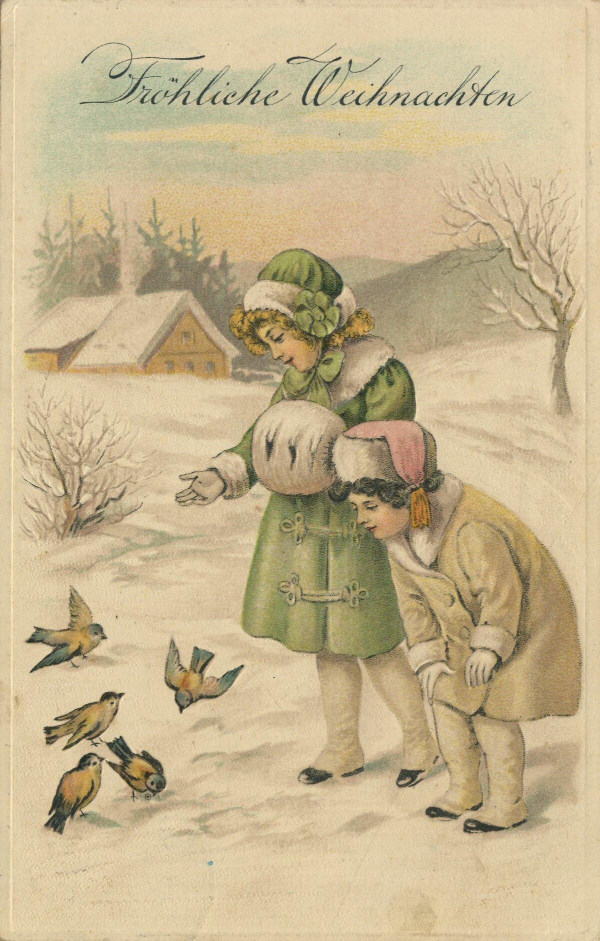 Открытки с новым годом прошлого века, открытках