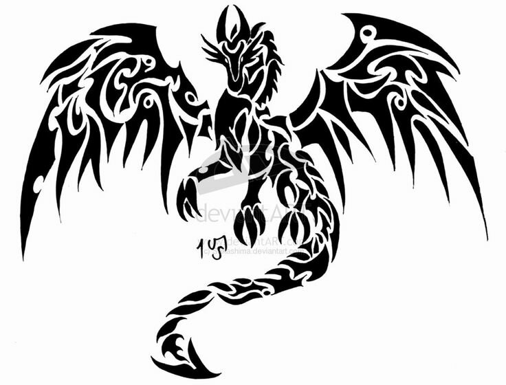 7558efc08 ... Celtic Dragon Tattoo Dragon tattoo for the back by Sakashima on deviantART  Tattoo Ideas Pinterest Тату