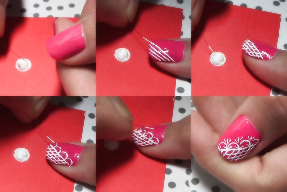 Самые простые рисунки на ногтях для начинающих