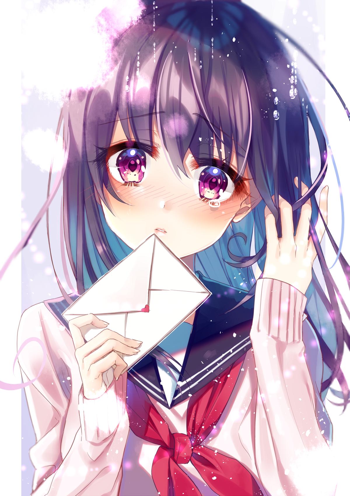 Картинки аниме девочек на аватарку
