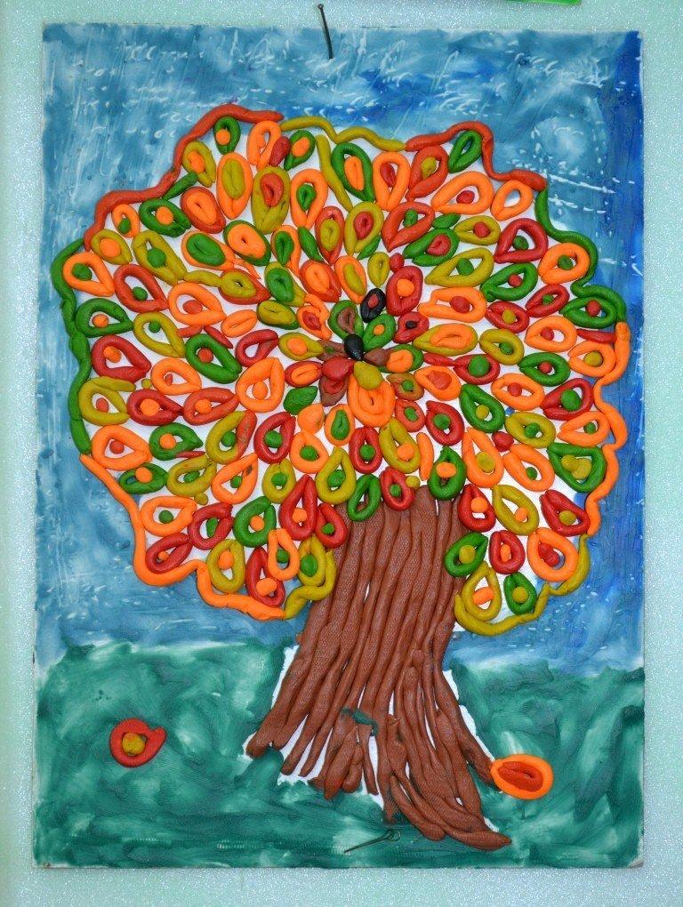 Картинки рисуем пластилином с детьми