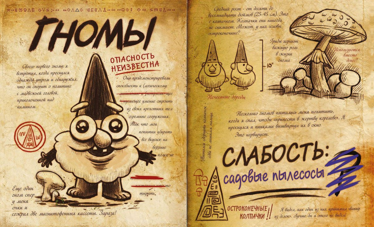 Дневник гравити фолс страницы картинки ассоциация