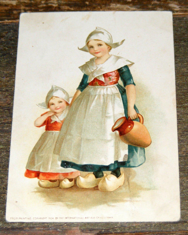 Киригами, коллекции ретро открыток