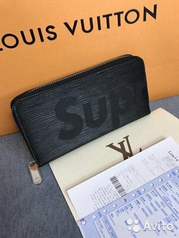 Женское портмоне Supreme от Louis Vuitton. Женское портмоне от - сеть Купить  со скидкой - f2efbad743c