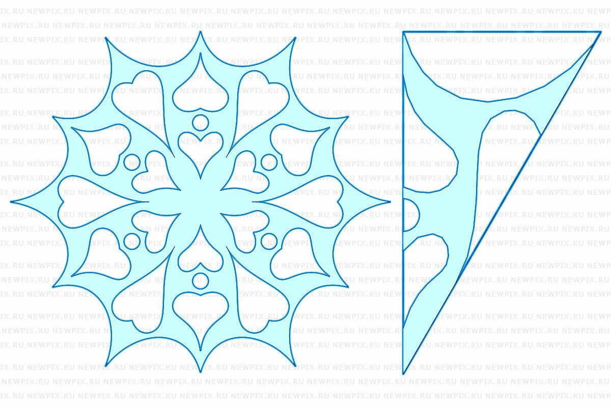 Заполнение открытки, рисунок как делать снежинки