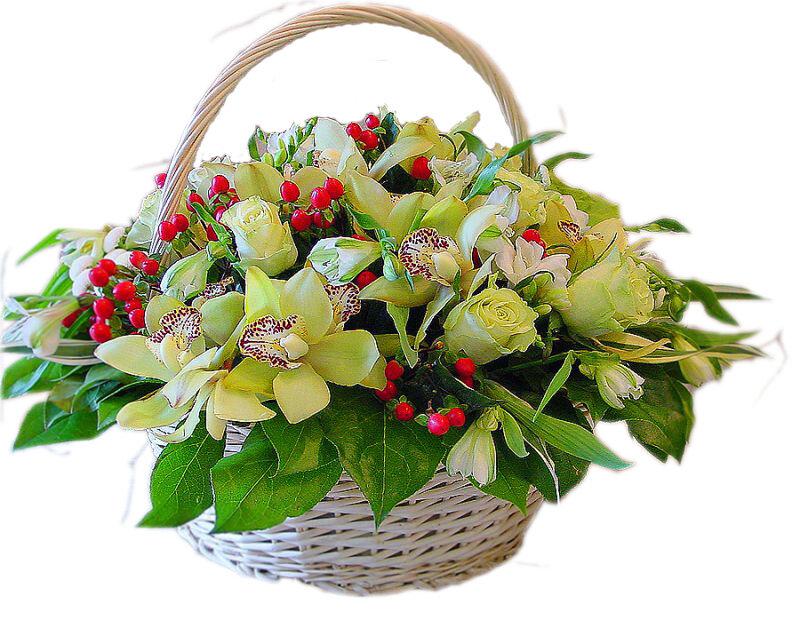 Купить букет свежих цветов в москве