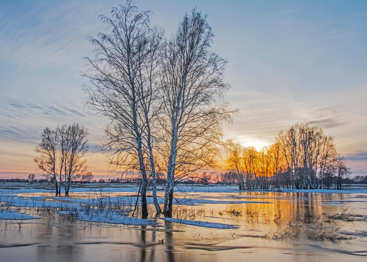 Весна фото красивые природа россии, открытка марта