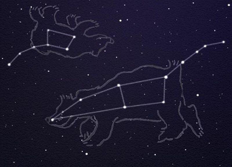 Картинки созвездия большой медведицы