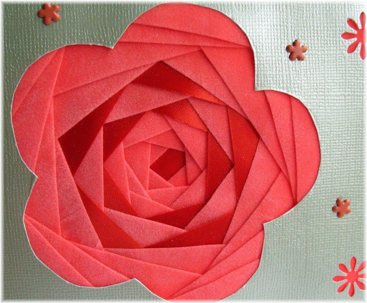 Открытка айрис фолдинг цветок, плохо днем